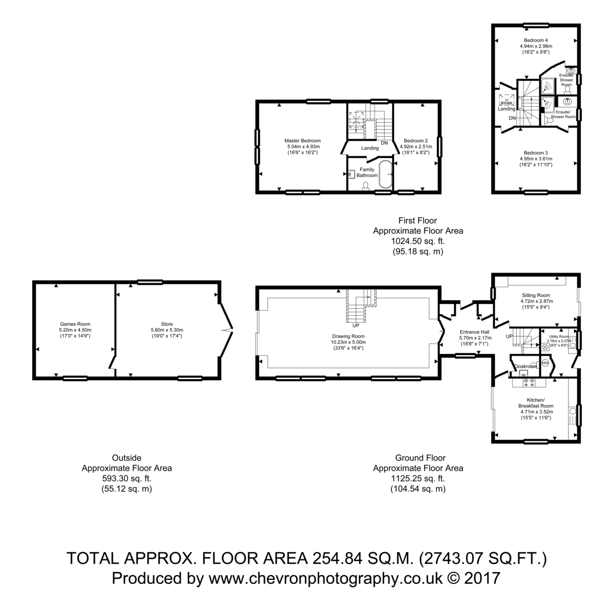 Wormingford, Suffolk Floorplan