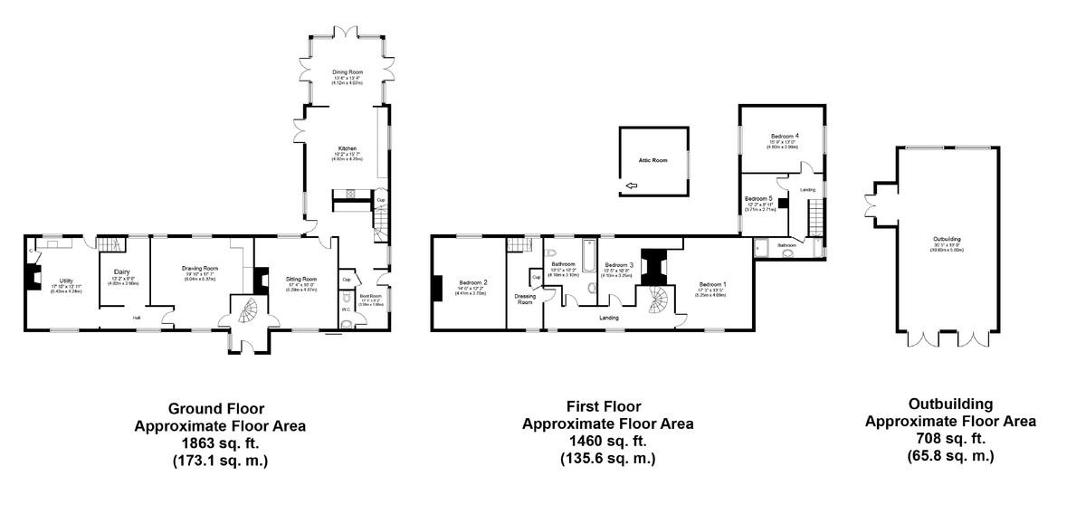 Ringshall, Stowmarket, Suffolk Floorplan