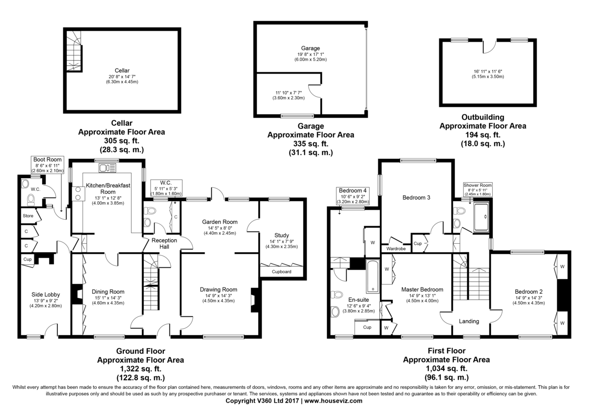 Castle Hedingham, Halstead, Essex Floorplan