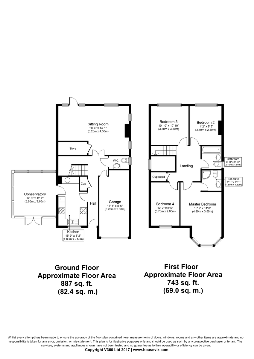 Ashley, Newmarket Floorplan
