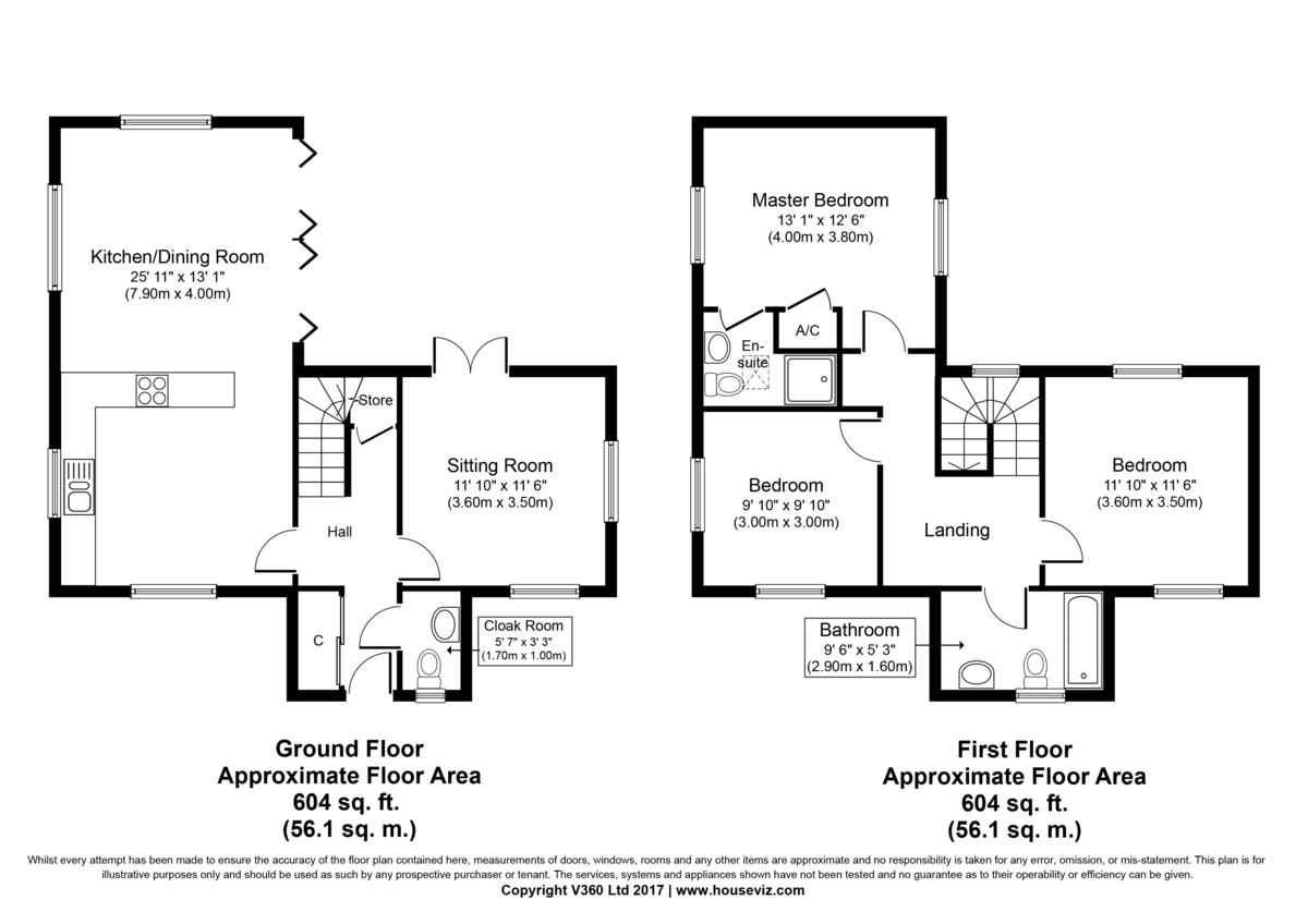 Rougham, Bury St Edmunds, Suffolk Floorplan