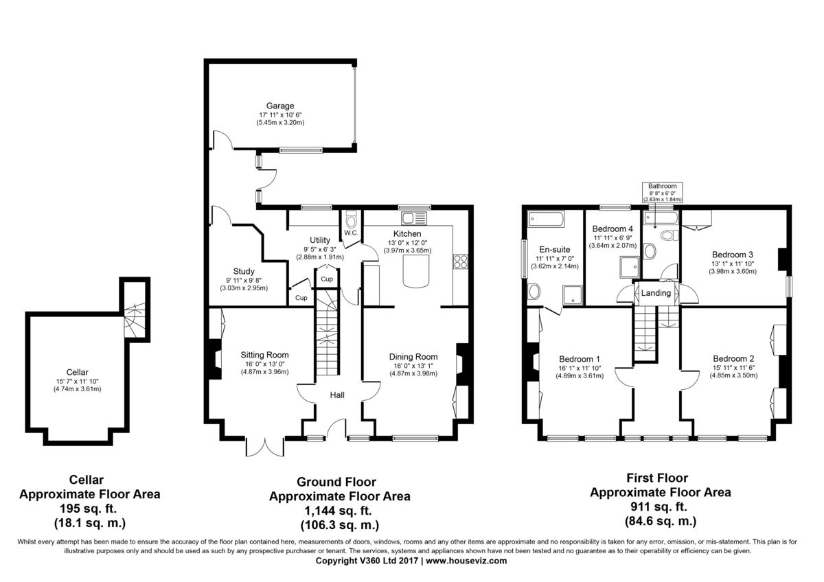 Exning, Newmarket, Suffolk Floorplan