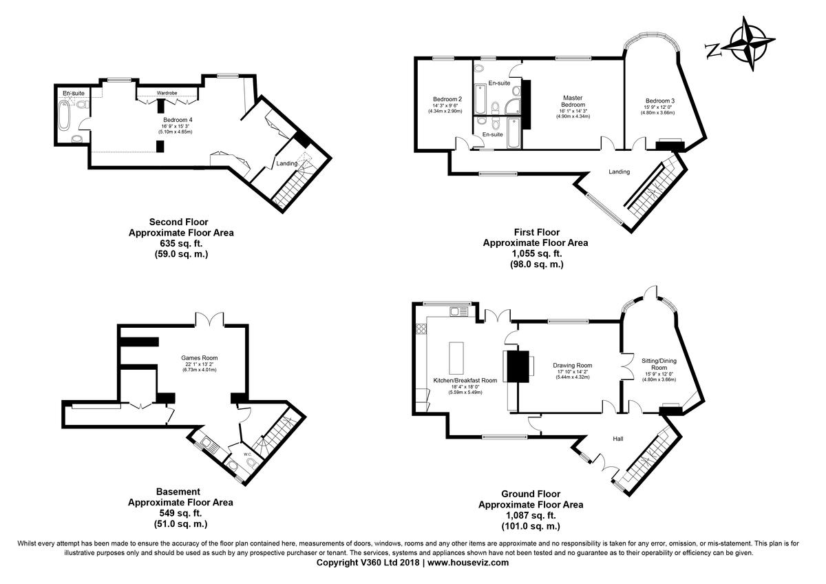 Freckenham, Suffolk Floorplan
