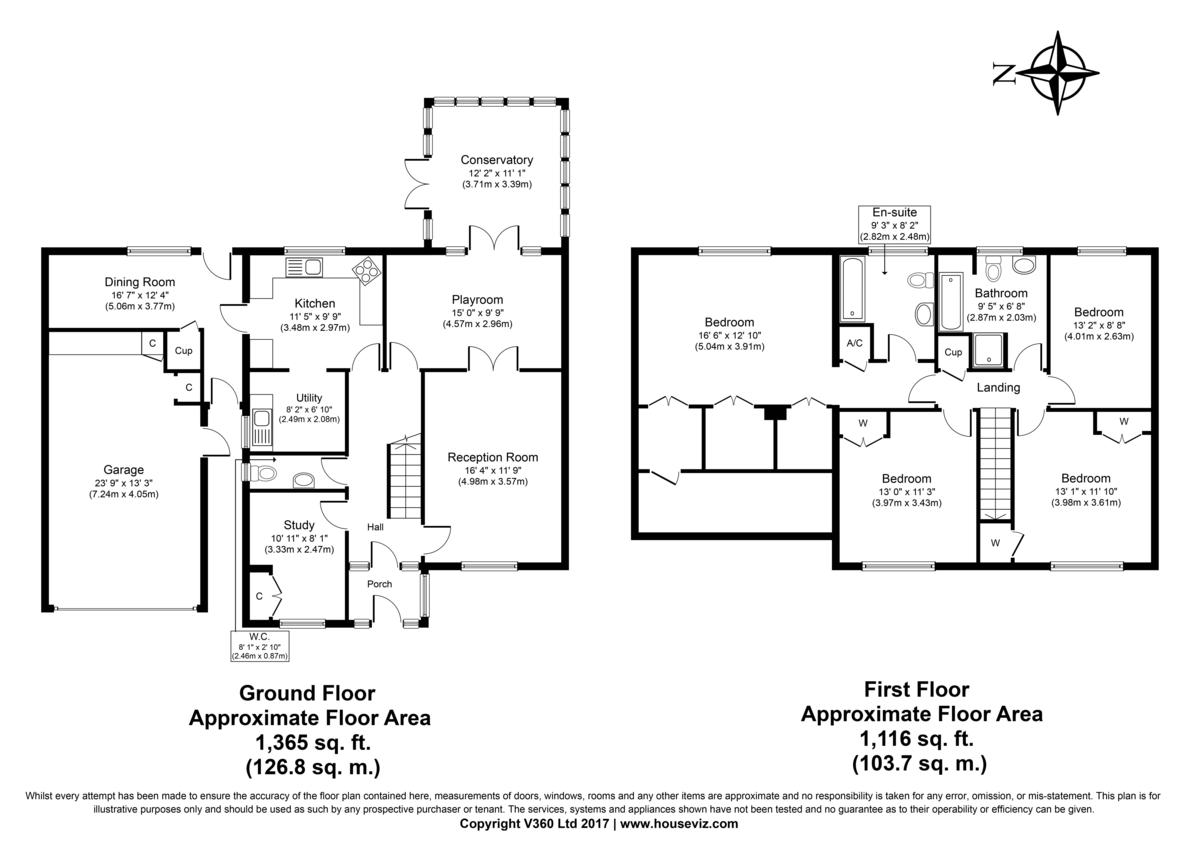 Culford, Bury St Edmunds, Suffolk Floorplan