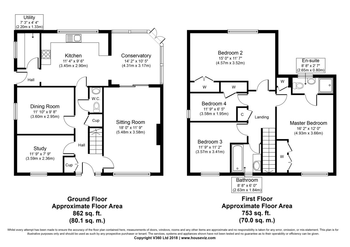 Chevington, Bury St Edmunds, Suffolk Floorplan