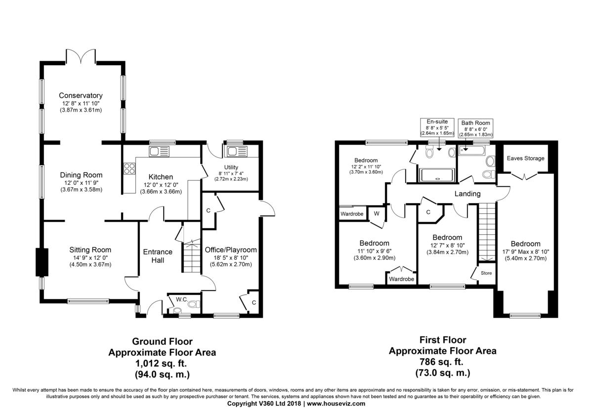 Thurston, Bury St Edmunds, Suffolk Floorplan