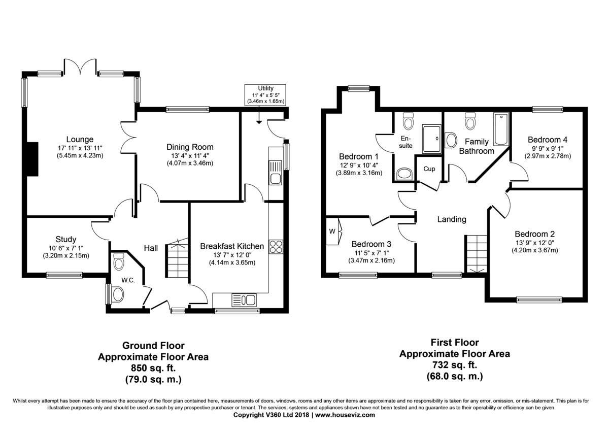 Badwell Ash, Bury St Edmunds, Suffolk Floorplan