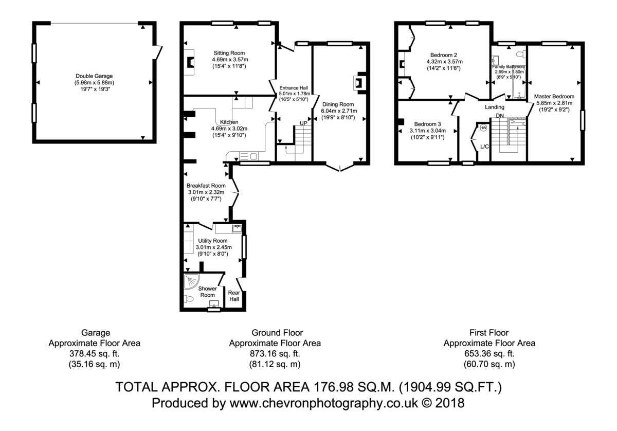 Holton St Mary, Suffolk Floorplan