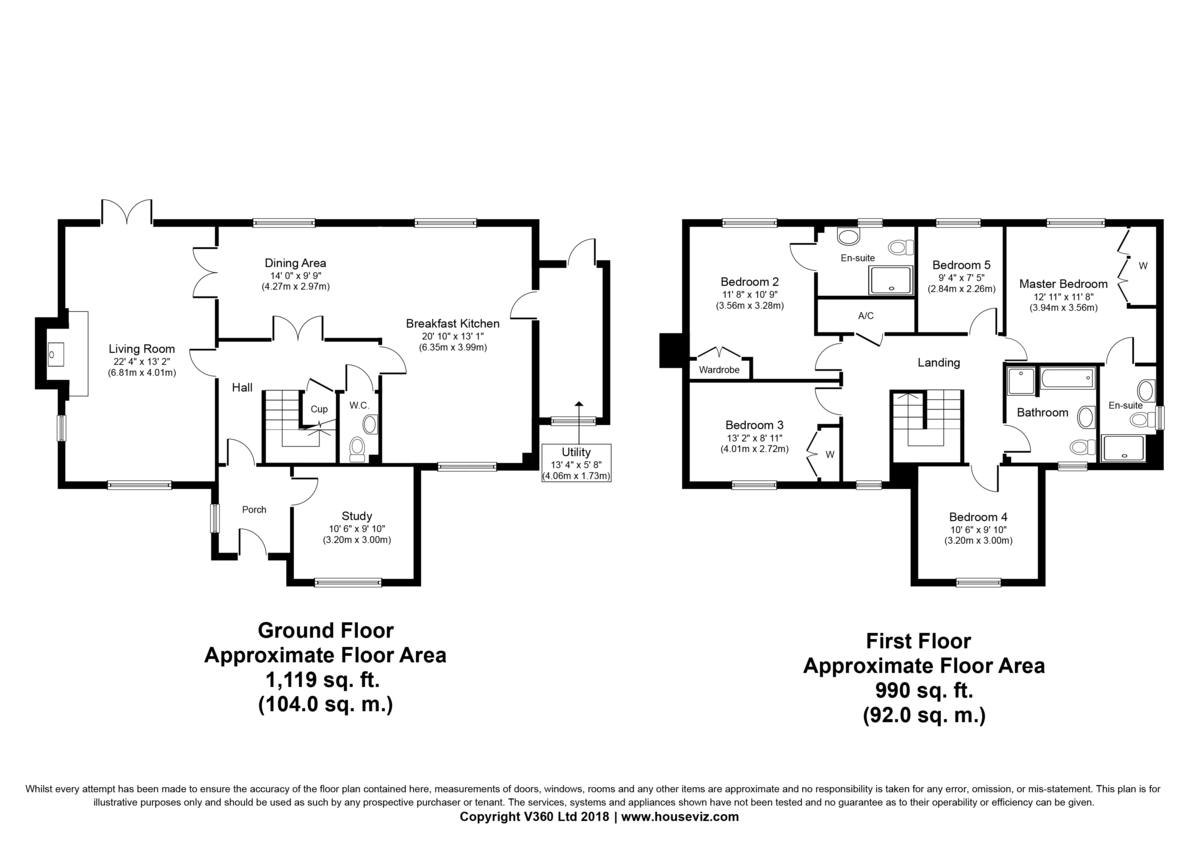 Gazeley, Newmarket Floorplan