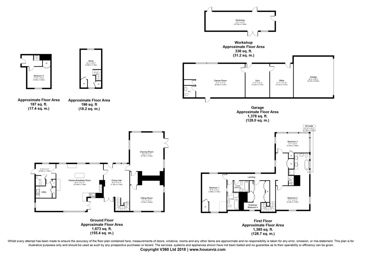 Felsham, Bury St Edmunds, Suffolk Floorplan