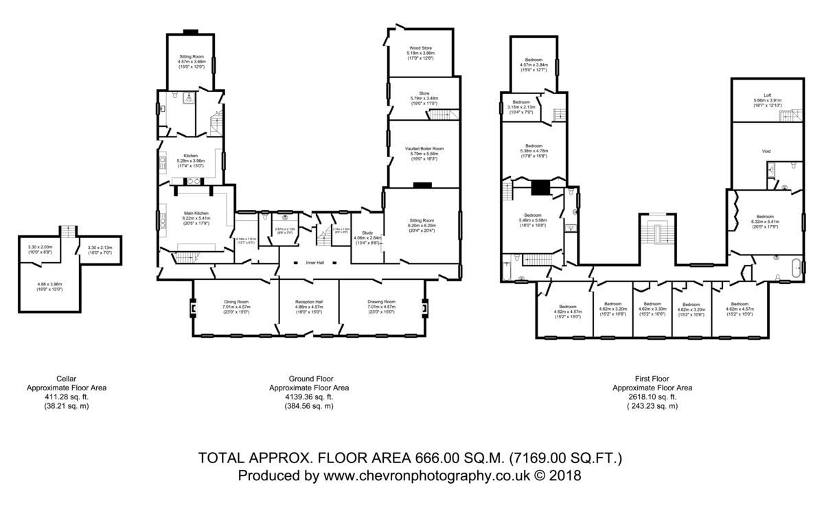 Great Waldingfield, Sudbury, Suffolk Floorplan