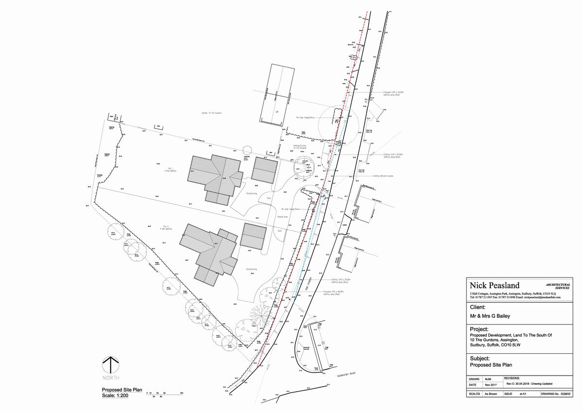 Assington, Sudbury, Suffolk Floorplan