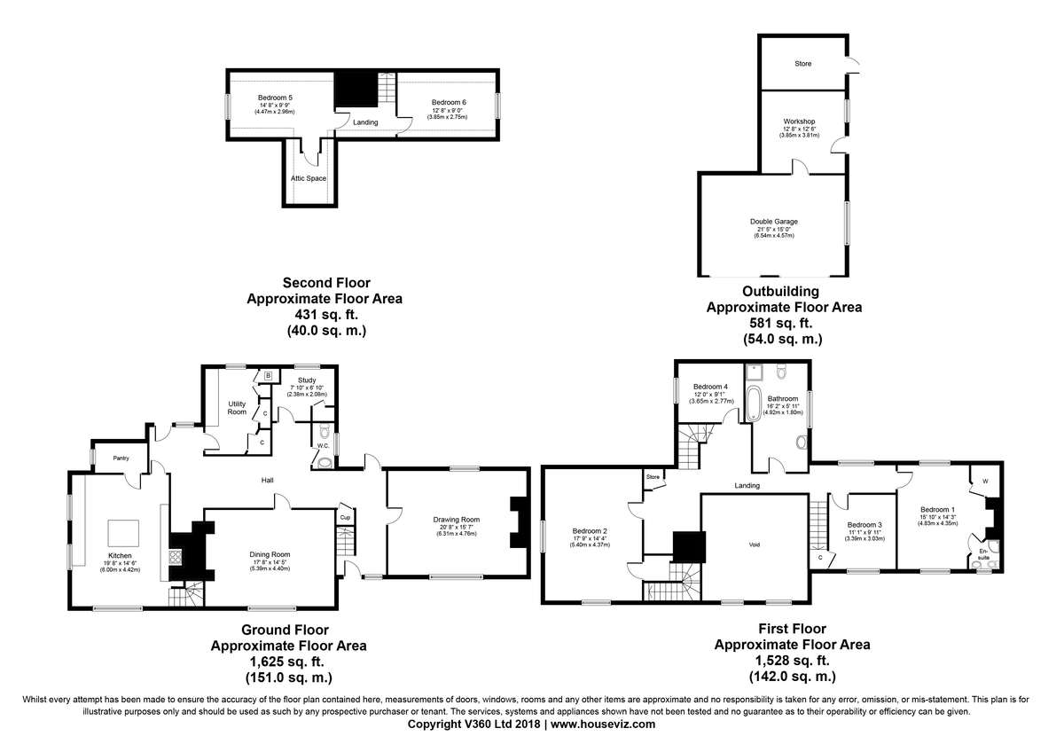 Rattlesden, Bury St Edmunds, Suffolk Floorplan
