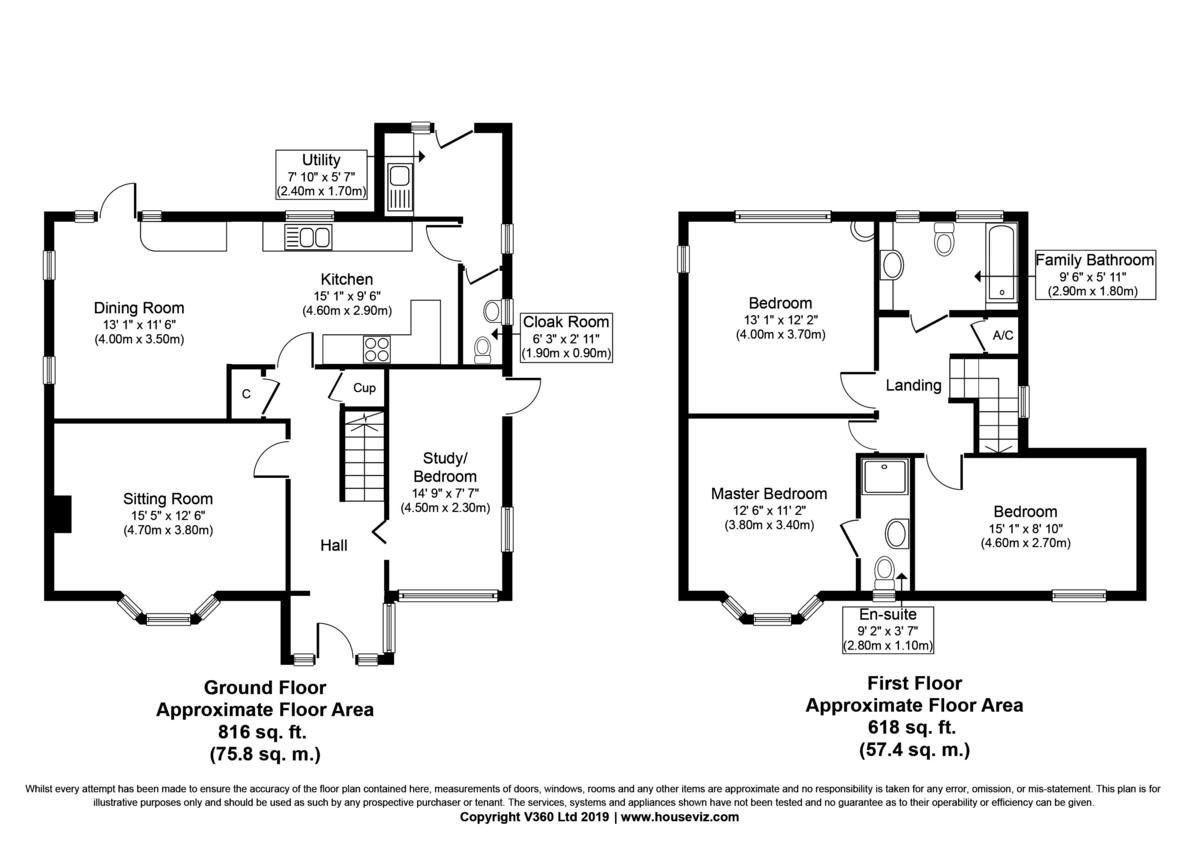 Bury St Edmunds, Suffolk Floorplan