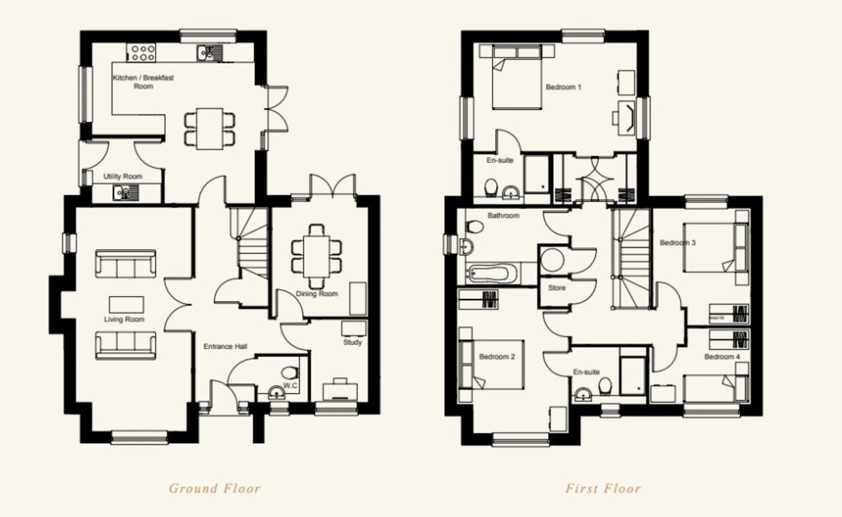 Chedburgh, Bury St Edmunds, Suffolk Floorplan