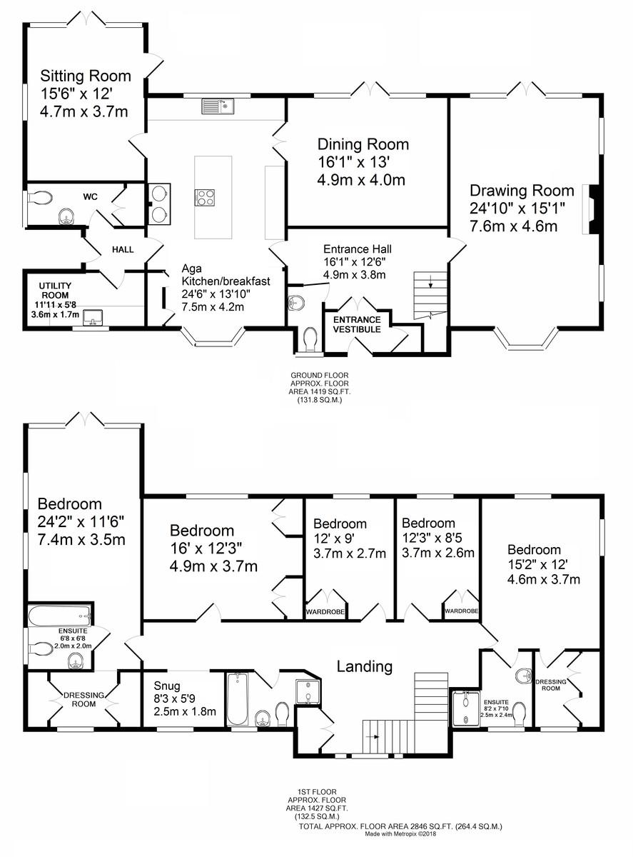 Liston, Sudbury, Suffolk Floorplan