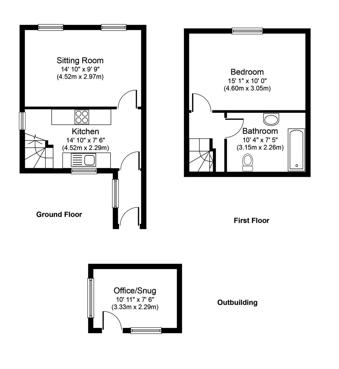 Bardwell, Bury St Edmunds, Suffolk Floorplan