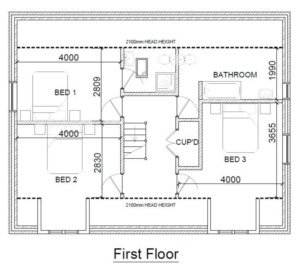 Bacton, Stowmarket, Suffolk Floorplan