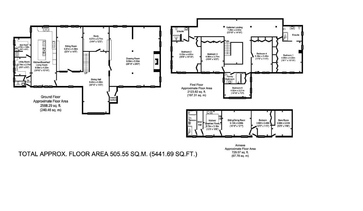 Preston St Mary, Sudbury, Suffolk Floorplan