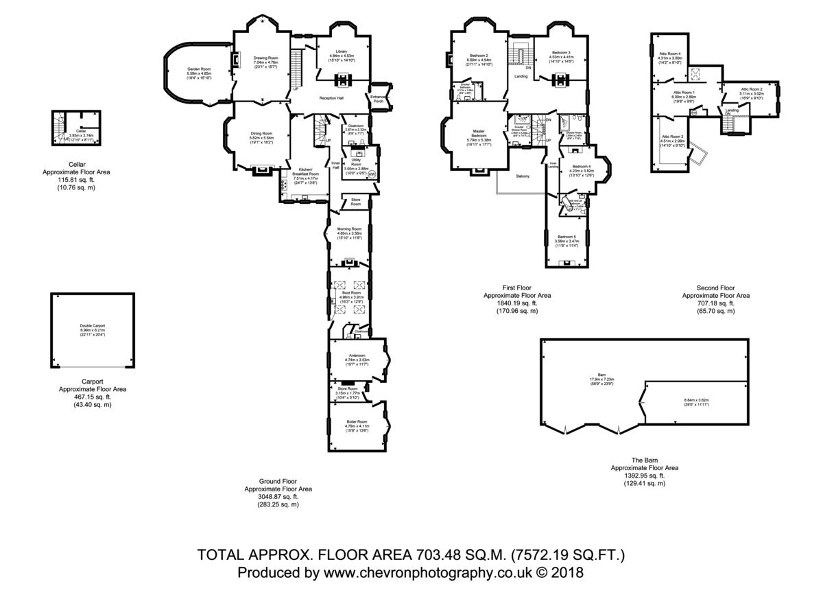 Messing, Colchester, Essex Floorplan