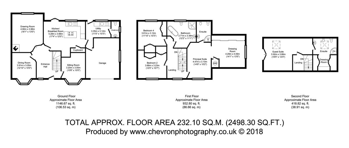 Glemsford, Sudbury, Suffolk Floorplan