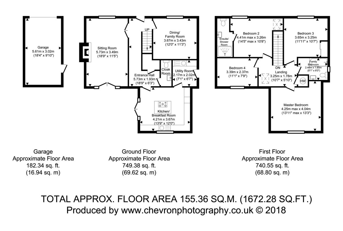 Bradfield, Manningtree, Essex Floorplan