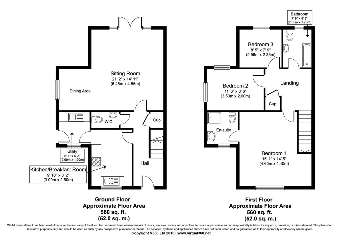 Bulmer, Sudbury, Suffolk Floorplan