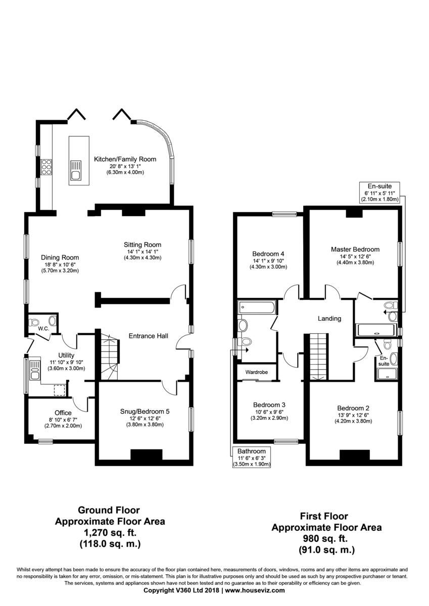 Wentworth, Ely Floorplan