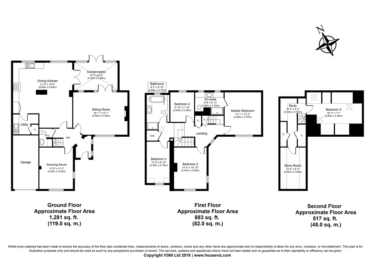 Newmarket, Suffolk Floorplan