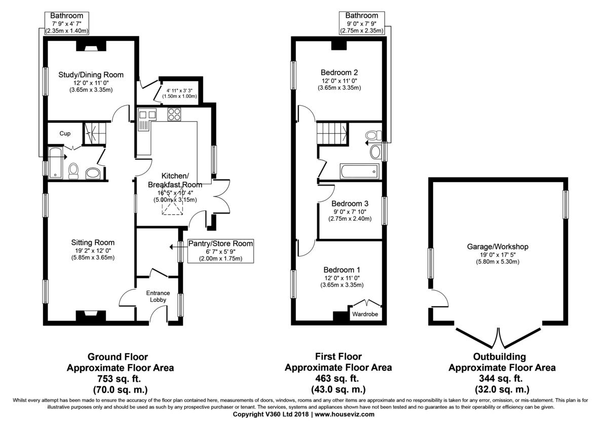 Little Yeldham, Halstead, Essex Floorplan