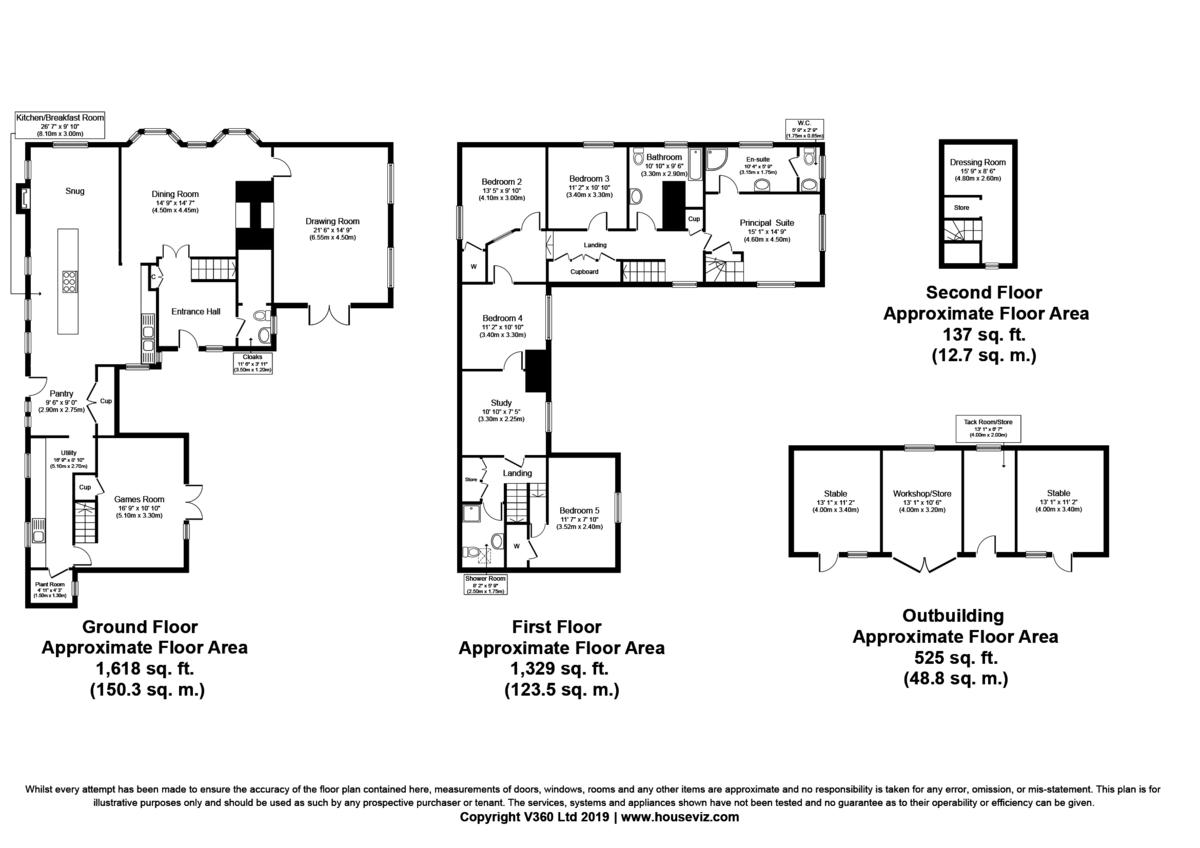 Sible Hedingham, Halstead, Essex Floorplan