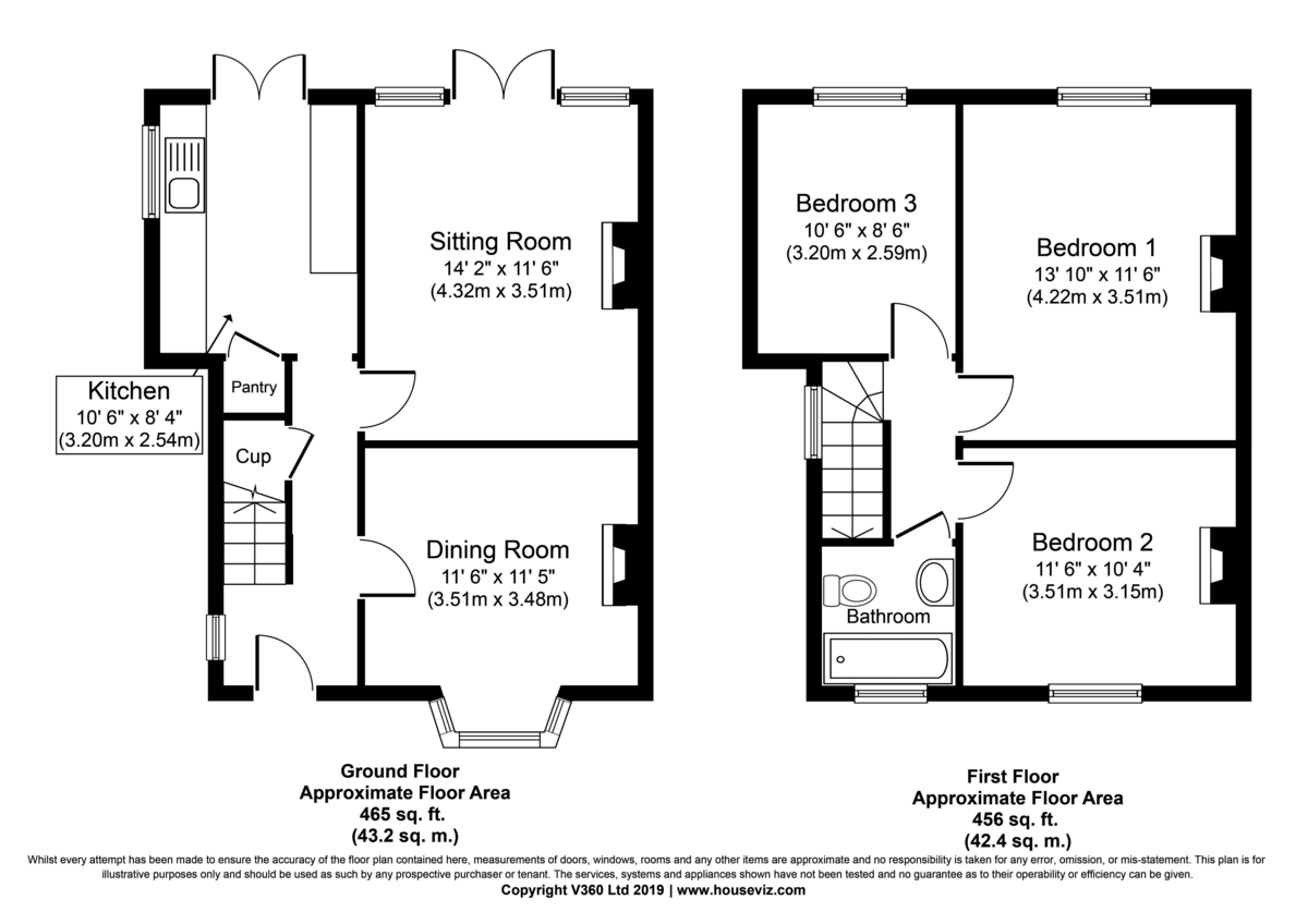 Norton, Bury St Edmunds, Suffolk Floorplan