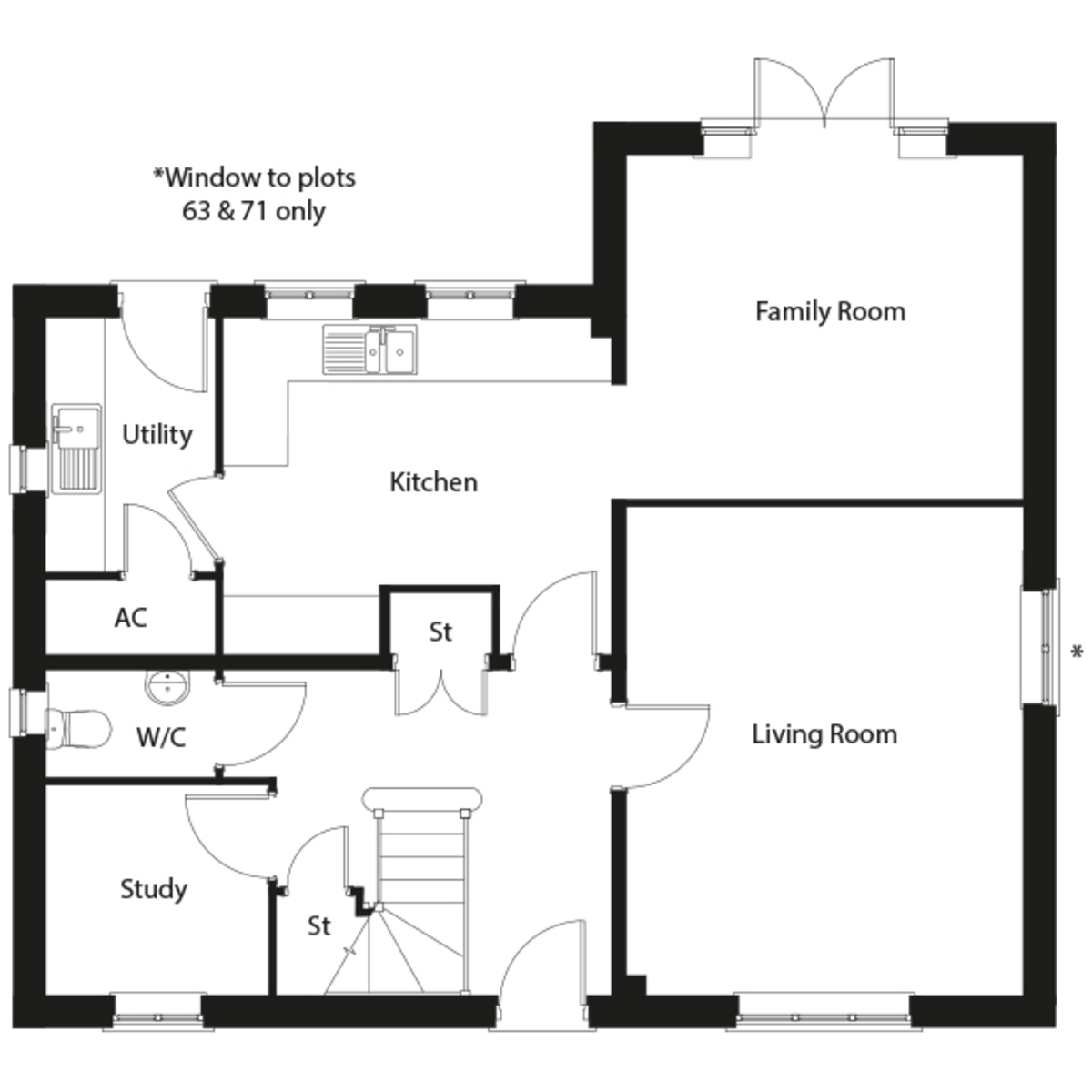 Long Melford, Suffolk Floorplan