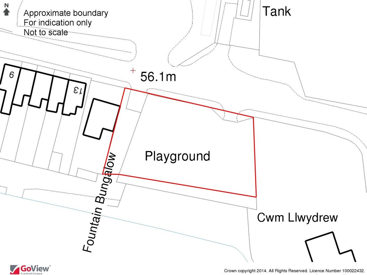 Land at Fountain Terrace, Near Aberkenfig, Bridgend, CF32 8TD