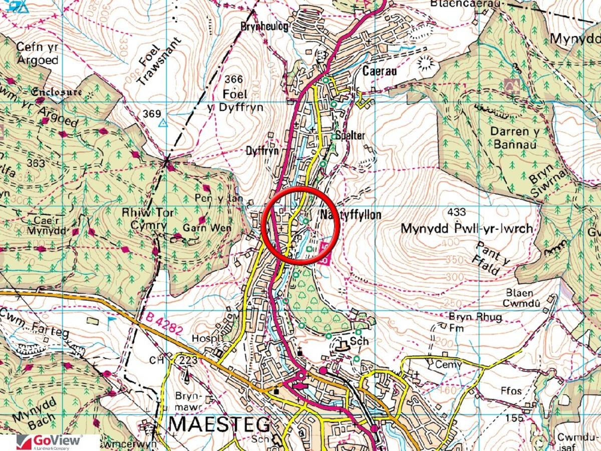 Land east of Maes Y Dderwen, off Heol Tywith, Nantyfyllon, Maesteg, CF34 0HN