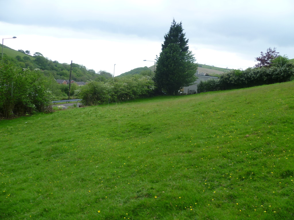 Land with outline planning permission for two detached dwellings at Blackmill