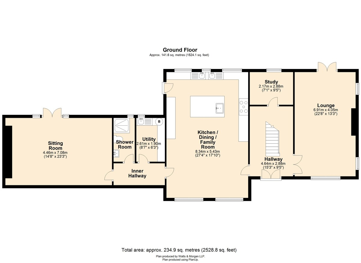 Bron Y Deri, 3 Smallholdings, Coity, Bridgend, Bridgend County Borough, CF35 6BW