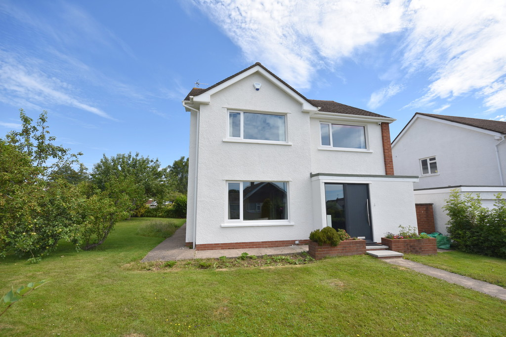 A Stunning Four Bedroom Detached House Set Within A Delightful Corner Plot In Robinswood Crescent, A Highly Desirable Area Of Penarth