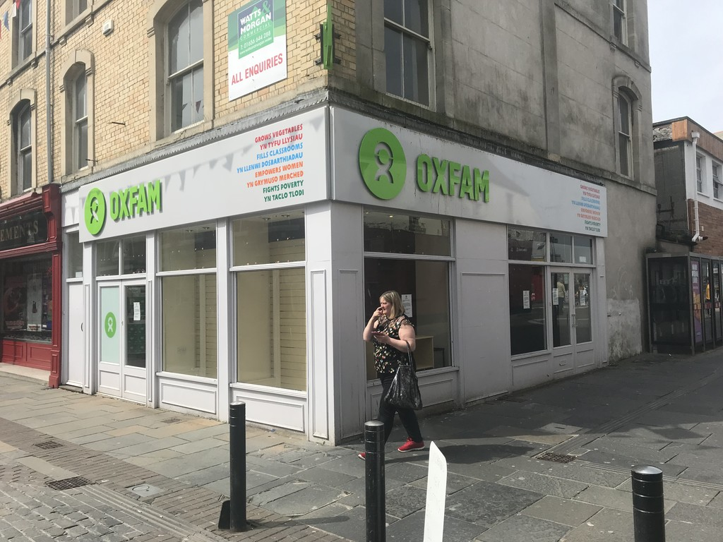 Three Storey Town Centre, Shop & Premises, 21 Wyndham Street, Bridgend, CF31 1ED
