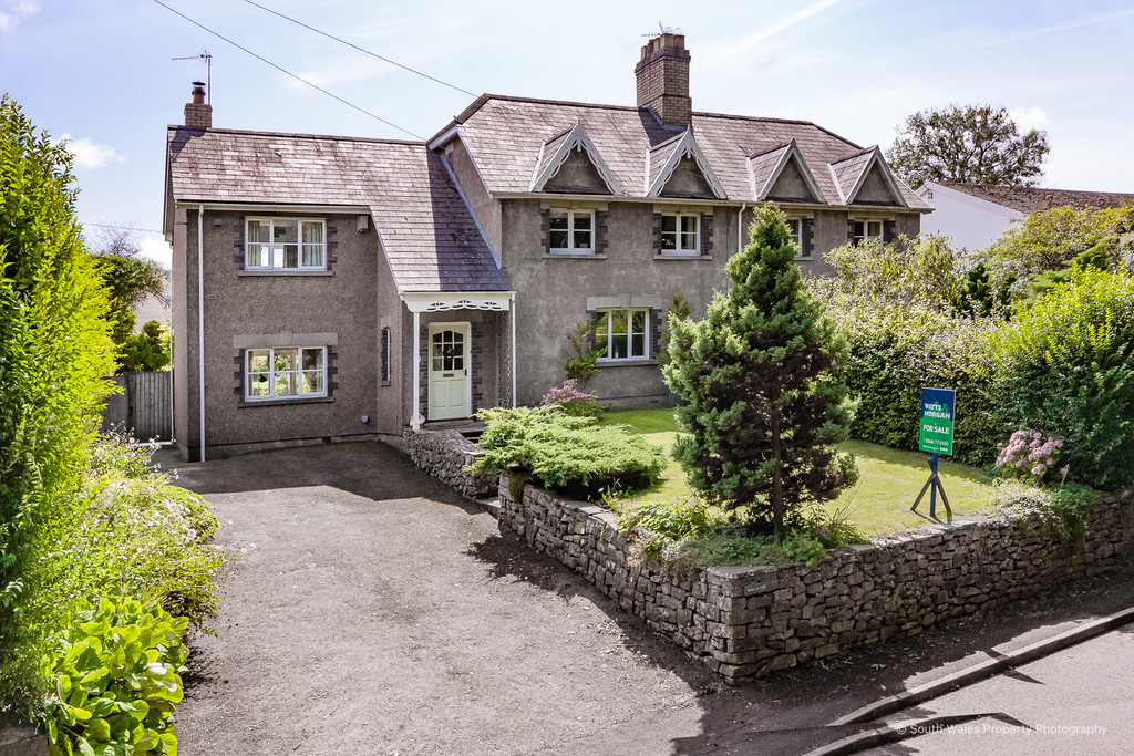 A Charming Four Bedroom Semi-Detached Property Offering Extensive Countryside Views. Located In The Sought After Village Of Corntown And Within Close Proximity To Cowbridge