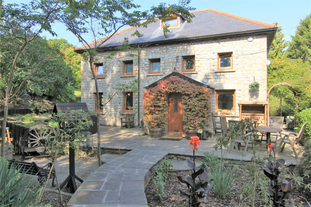 A Delightful Four Bedroom Detached Period Property Set Within 0.7 Acres Of Beautifully Landscaped Gardens And Grounds, Leckwith, Cardiff