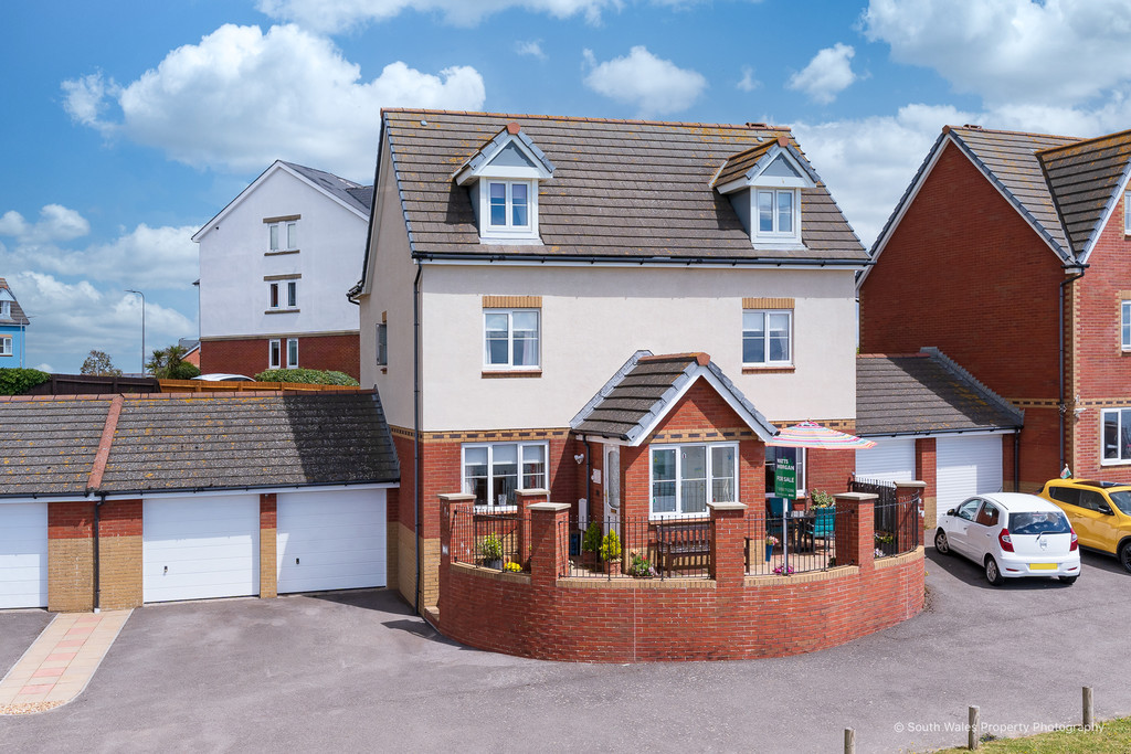 A Uniquely Situated, Three Storey Five Bedroom Family Home Enjoying Spectacular Panoramic Views Over Whitmore Bay, Barry