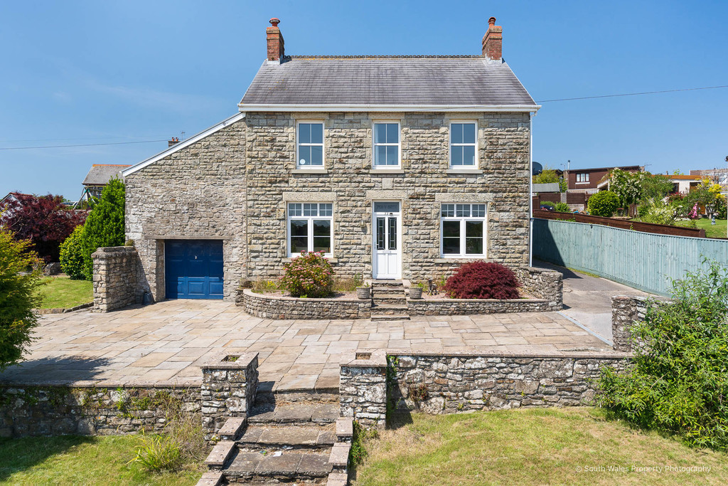 An Attractive 4 Bed Stone-Built Property In A Sizeable Plot Situated In The Sought-After Historic Village Of Coity, Bridgend