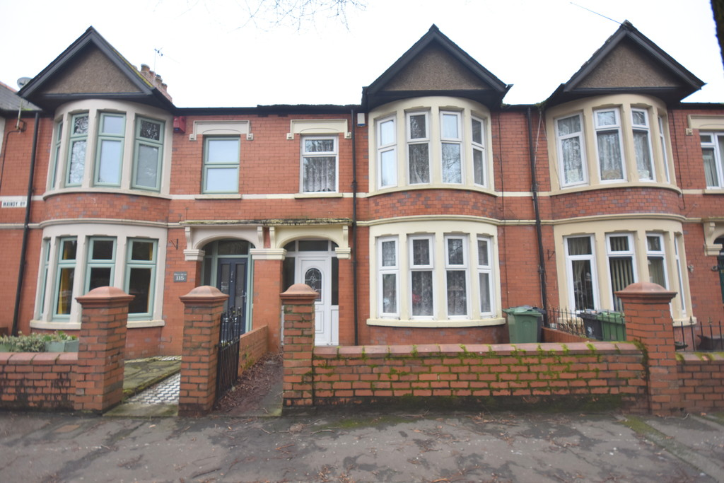 A Spacious 1930's Three Bedroom Mid Terraced Home With Large Garden, Maindy Road, Cardiff