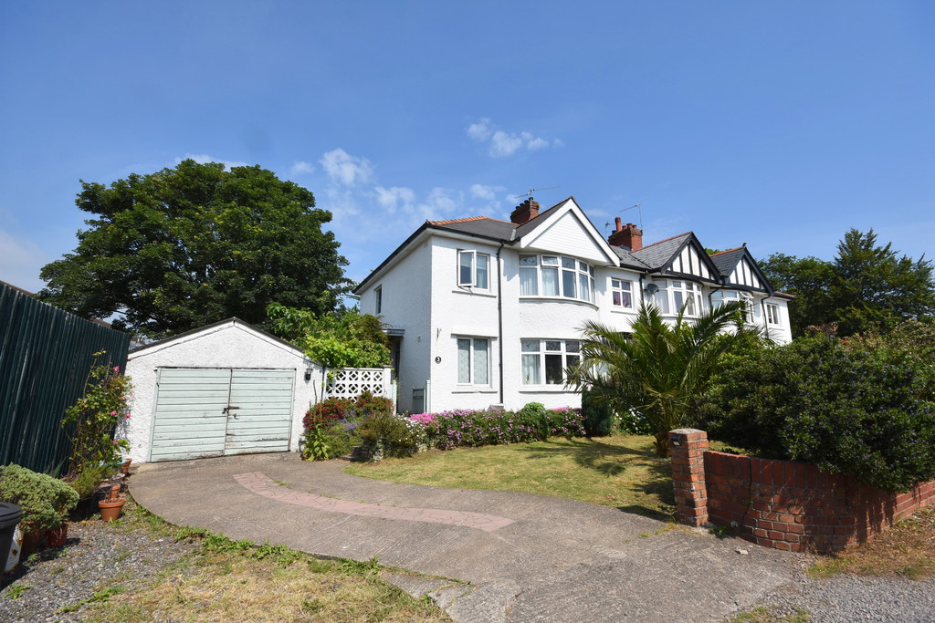 A Spacious Three Bedroom, Semi-Detached Family Home With Beautifully Landscaped Front And Rear Gardens, Powys Road, Penarth