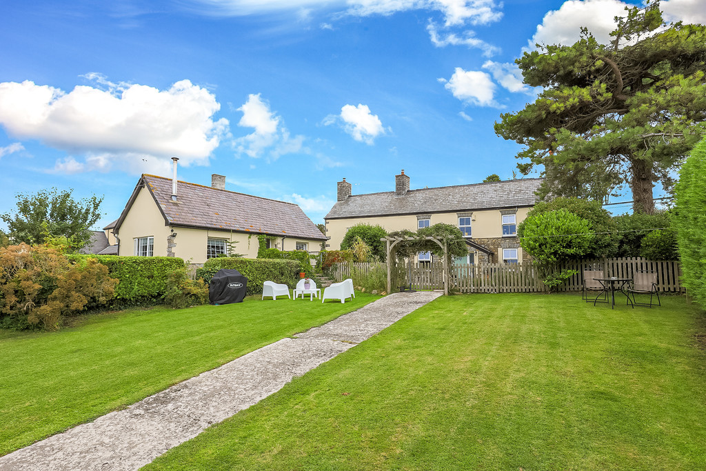 A Detached 17th Century Stone Built Four Bedroom Property Together With Separate 1 Bedroom Self Contained Holiday Let Accommodation, Gileston, Vale Of Glamorgan