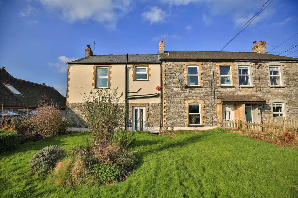An Extended Five Bedroom, Semi Detached Character House In Grounds Extending To Approximately 1 Acre, Trerhyngyll, Cowbridge