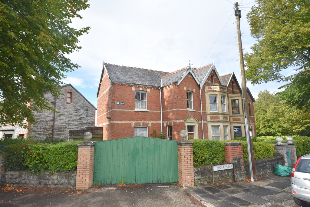 A Spacious Five Bedroom, Semi-Detached Family Home In Need Of Renovation, Paget Place, Penarth