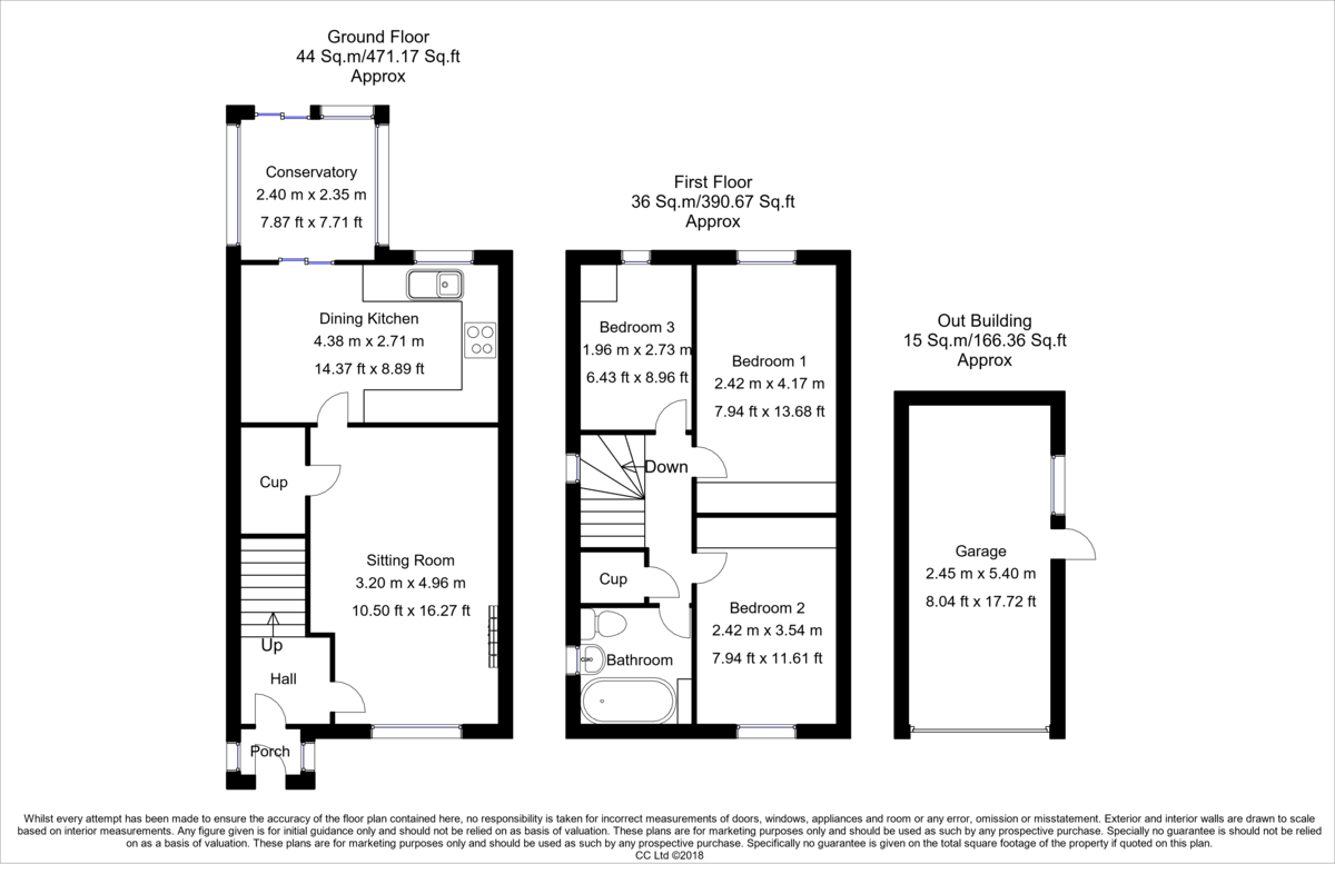 Property Floorplan | Robinson Hornsby Estate Agents